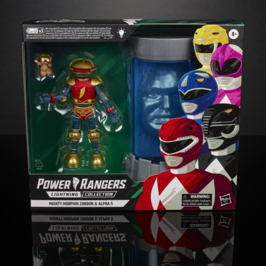 power rangers lightning collection alpha 5 and zordon two pack - package front