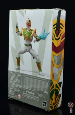 power rangers lightning collection lord drakkon figure review - package side and rear