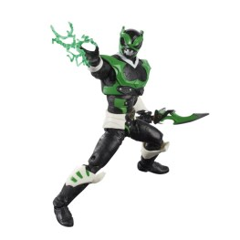 power rangers lightning collection space psycho green ranger - lightning effects