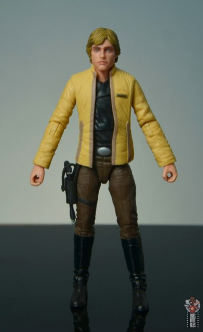 star wars the black series yavin celebration luke skywalker figure review - front