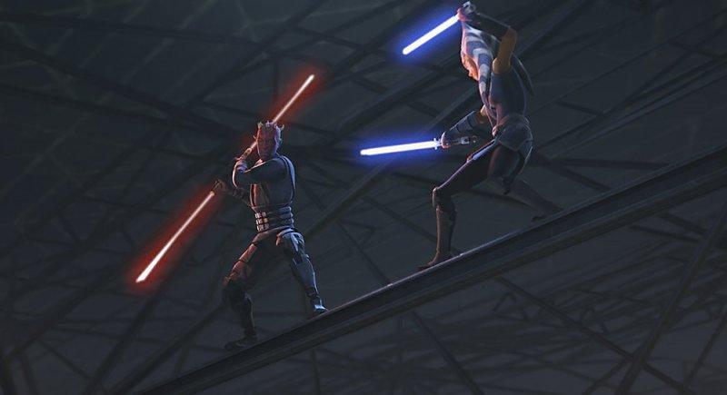 star wars the clone wars season 7 - the phantom apprentice - darth maul vs ahsoka