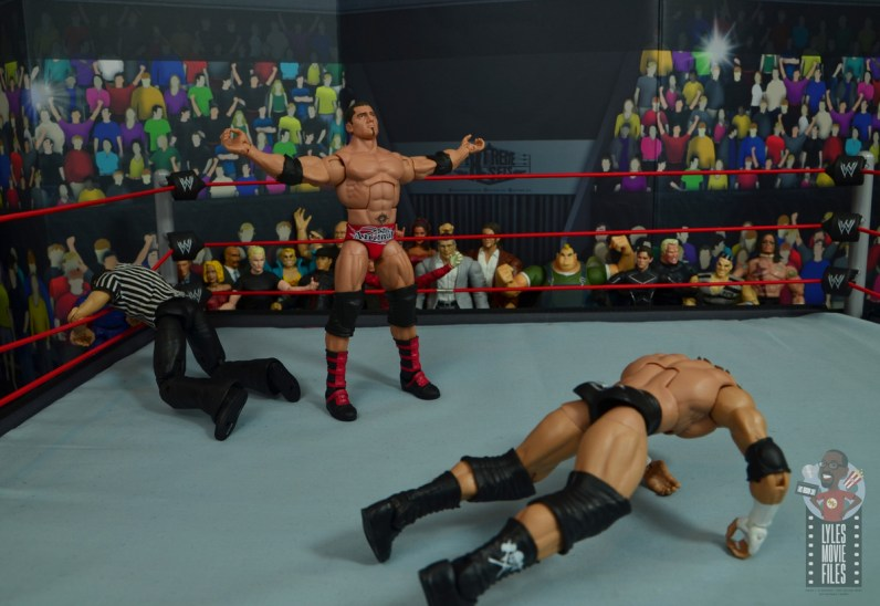 wwe elite hall of champions batista figure review - thumbs down for triple h