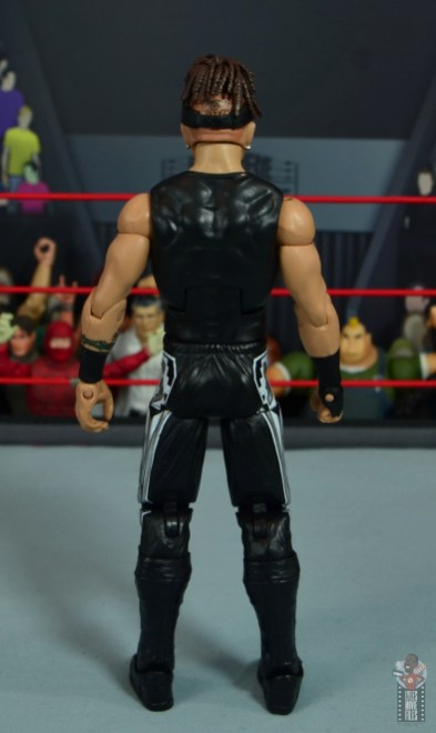 wwe elite hall of champions road dogg figure review - rear