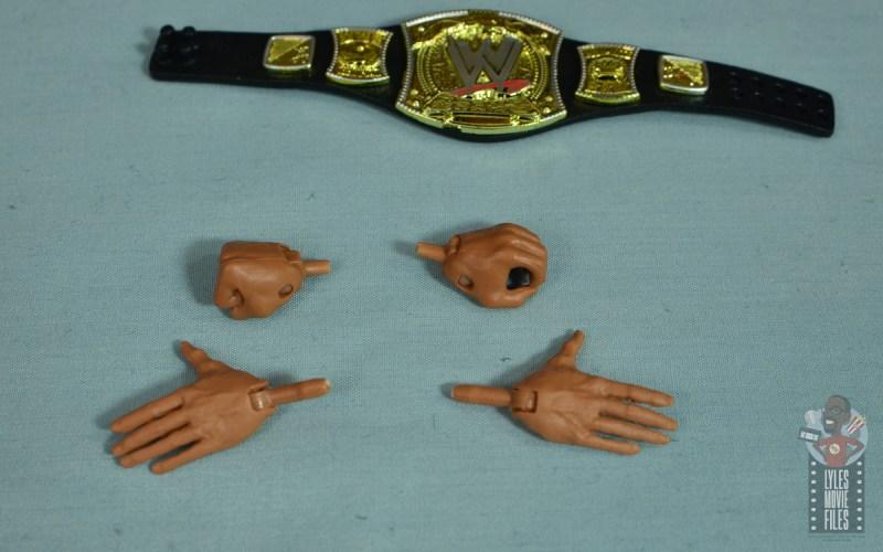 wwe elite royal rumble the rock figure review - broken hand tabs