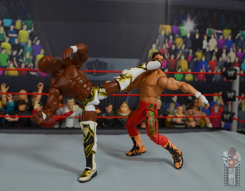 wwe elite shelton benjamin figure review - superkick to eddie guerrero