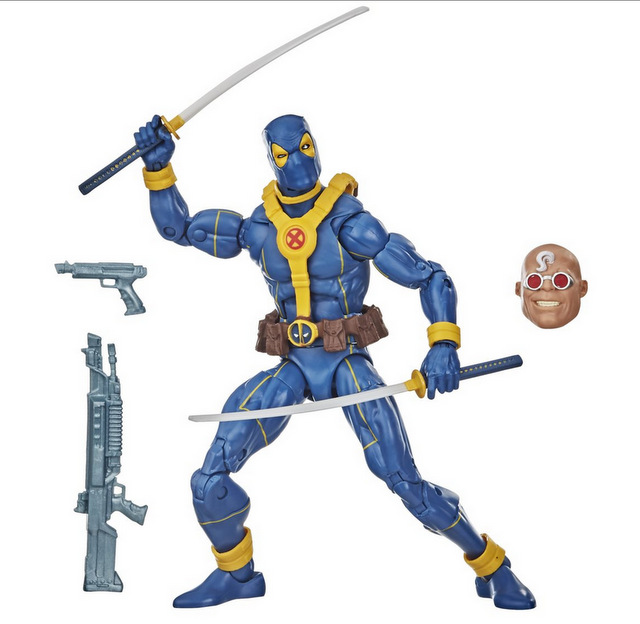 Deadpool Marvel Legends Blue Deadpool 6-inch