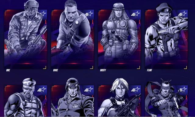 G.I. JOE Characters, Action Figures, Action Heroes List - G.I. JOEs