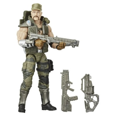 G.I. Joe Classified Series Gung Ho Action Figure - all accessories