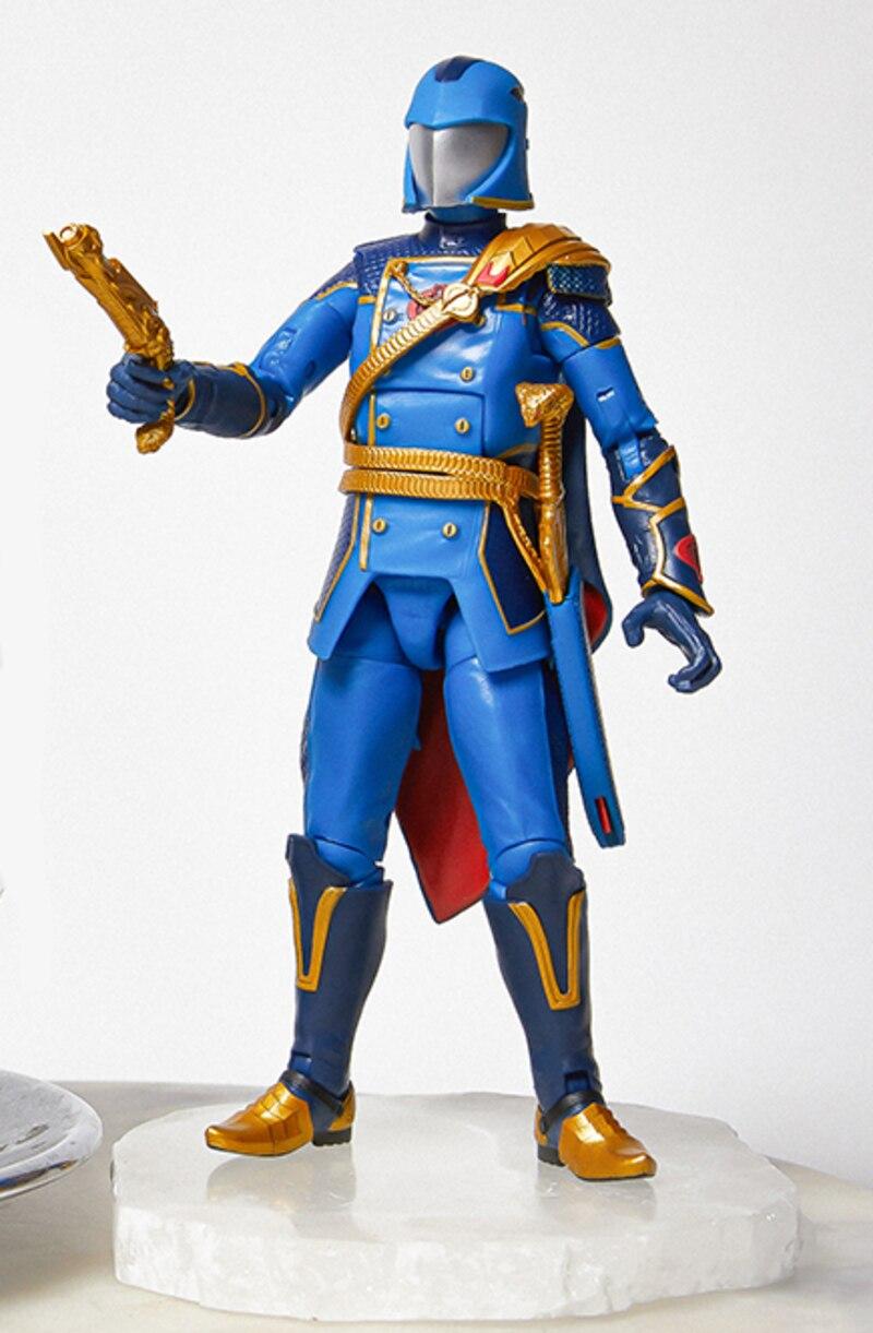 GI Joe Classified Series -Cobra Commander - gold variant