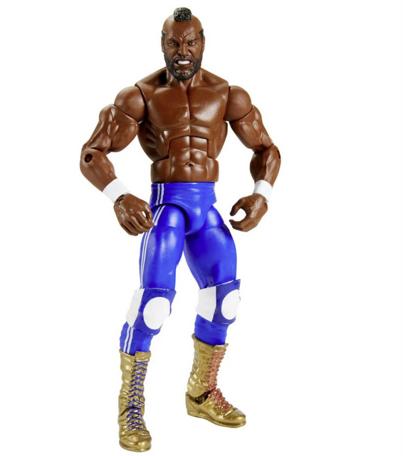 WWE Mr. T Elite Collection Action Figure - 2020 Convention Exclusive figure - wrestling gear