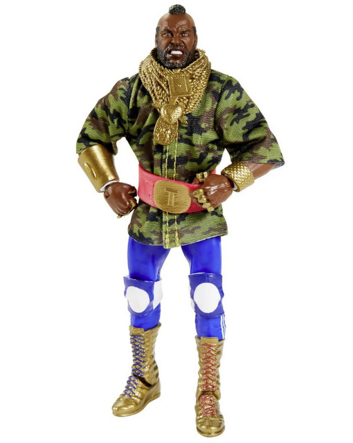 WWE Mr. T Elite Collection Action Figure - 2020 Convention Exclusive - ring gear