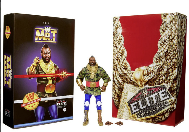 WWE Mr. T Elite Collection Action Figure - 2020 Convention package