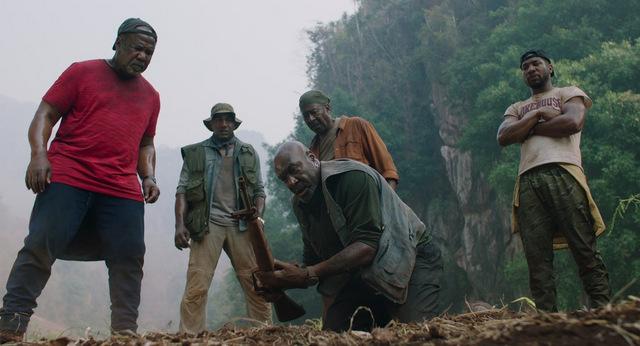 da 5 bloods movie review -melvin, eddie, paul, otis and david
