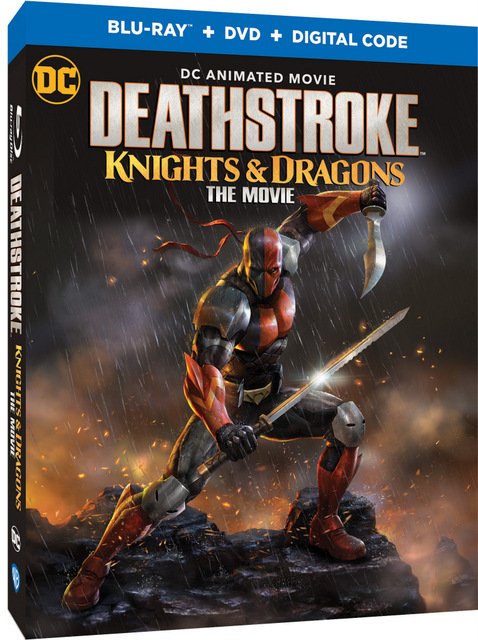 deathstroke knights and dragons blu-ray cover