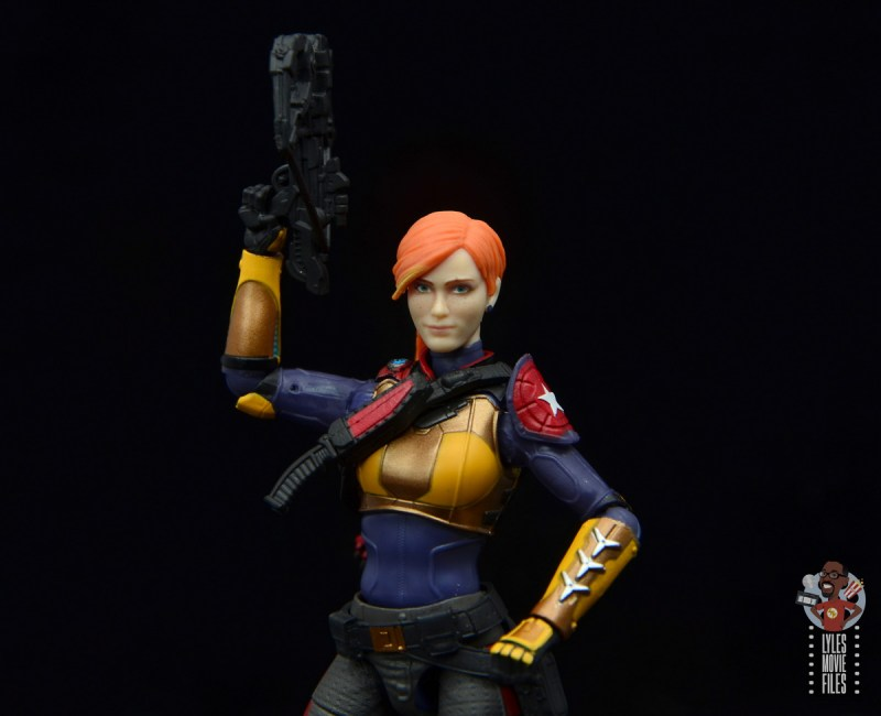 gi joe classified scarlett figure review - raising crossbow