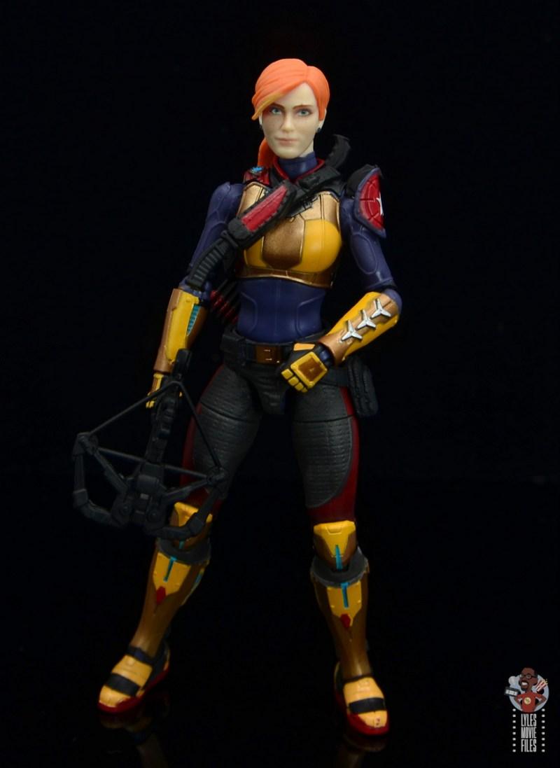 gi joe classified scarlett figure review - ready for battle