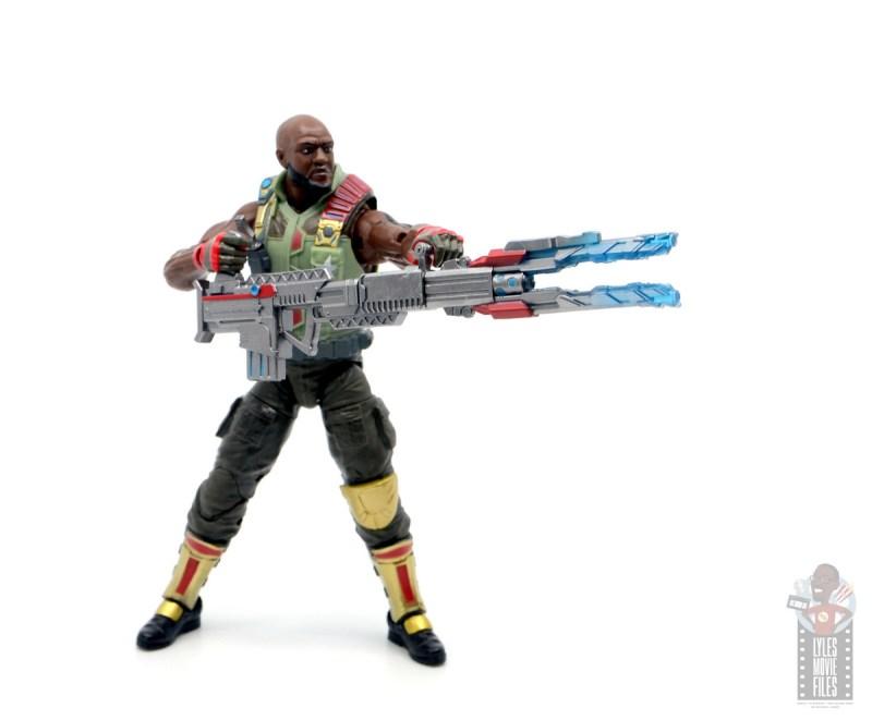 gi joe classified series roadblock figure review - aiming pulse gun