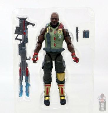 gi joe classified series roadblock figure review - with accessories