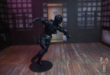 gi joe classified series snake eyes figure review - running