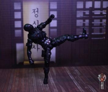 gi joe classified series snake eyes figure review - straight kick