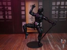gi joe classified series snake eyes figure review - sword balancing