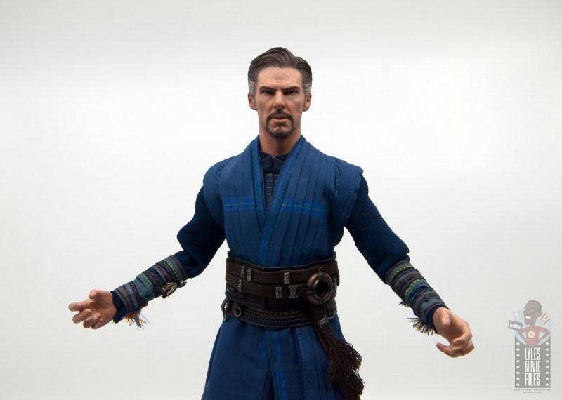 hot toys avengers infinity war doctor strange figure review -wide torso