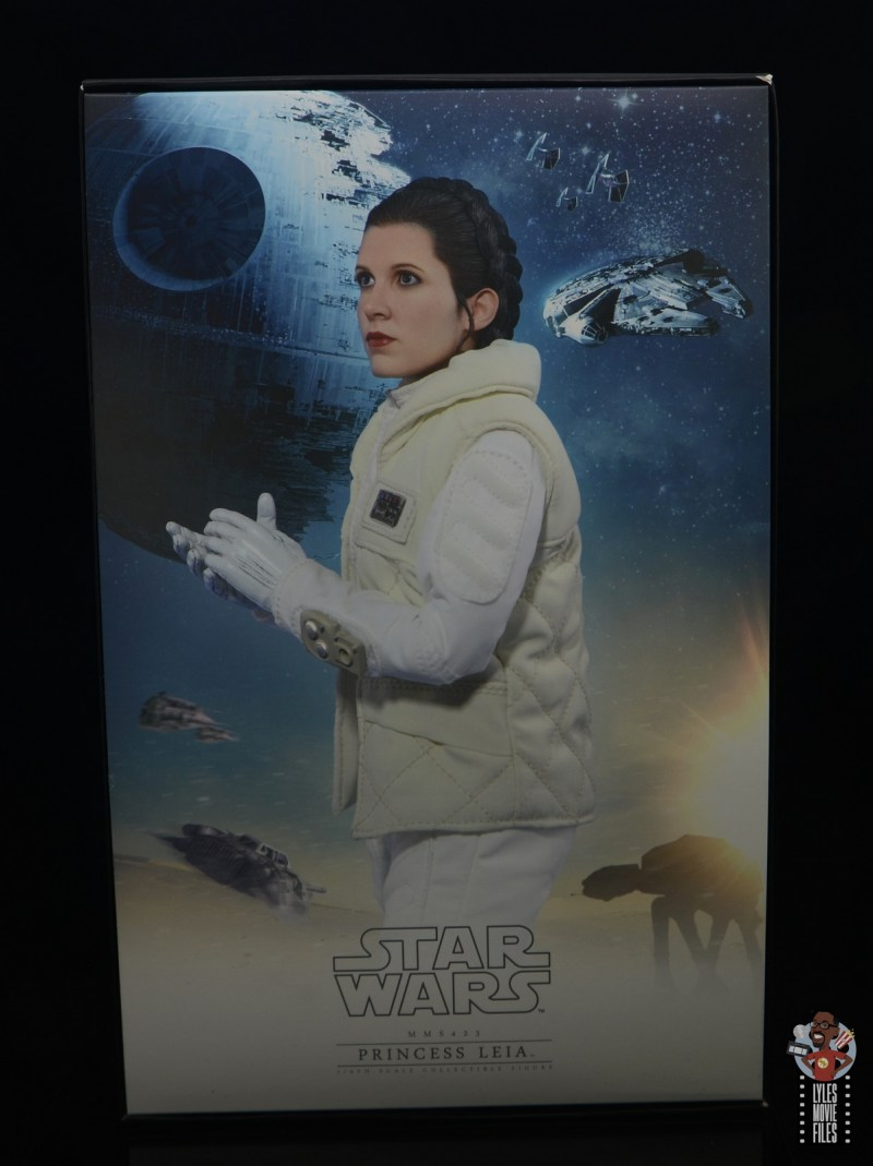 hot toys star wars hoth princess leia figure review - inner package