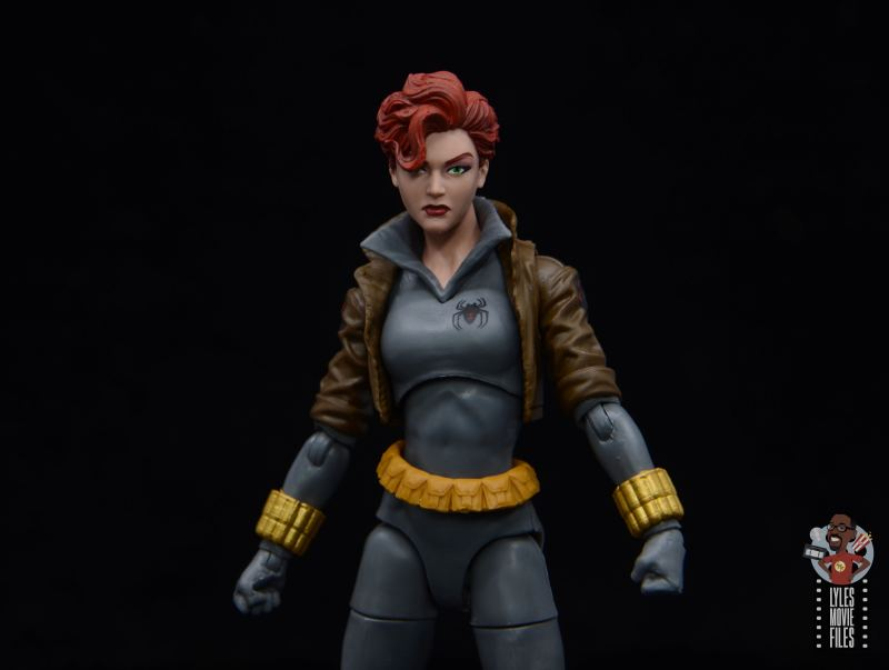 marvel legends black widow wal-mart exclusive figure review - main pic
