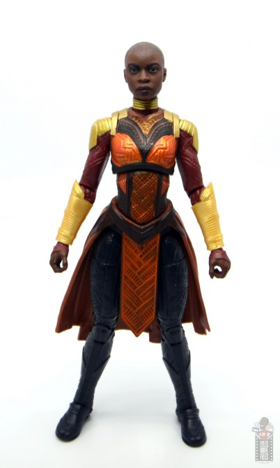 marvel legends build a figure okoye figure review -front
