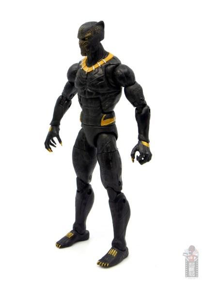 marvel legends erik killmonger figure review - left side