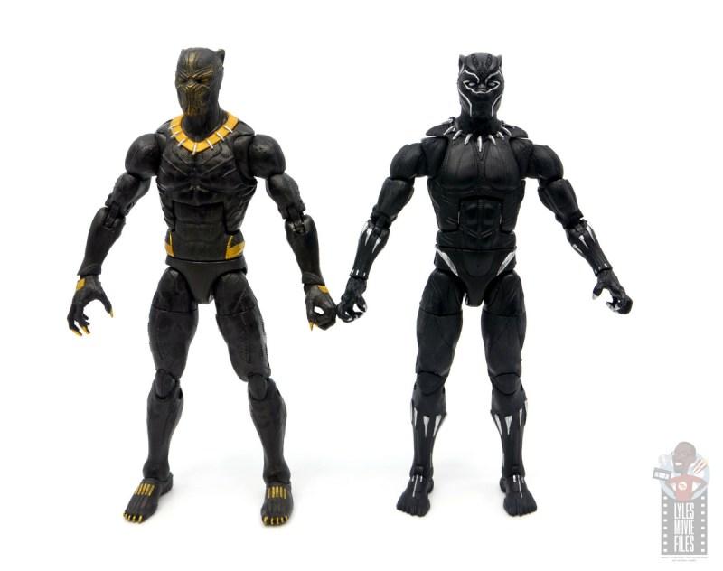 marvel legends erik killmonger figure review - scale with black panther