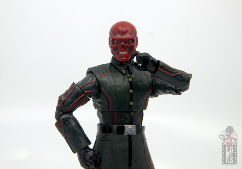 marvel legends marvel studios 10 years red skull figure review - thinking