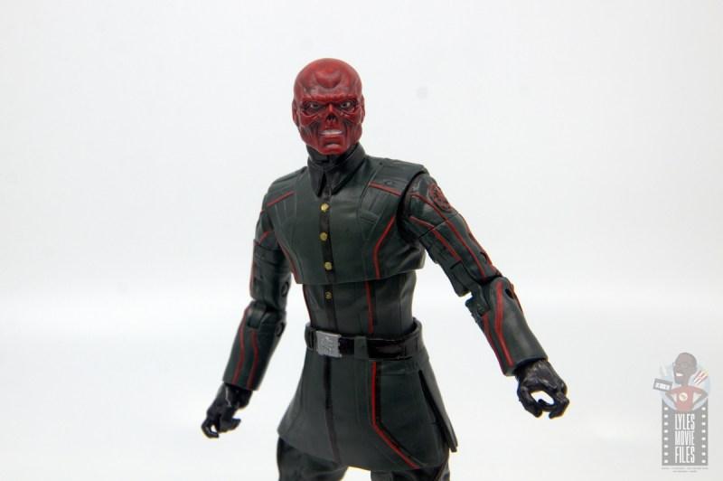 marvel legends marvel studios 10 years red skull figure review - twisting