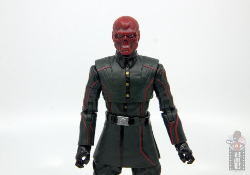 marvel legends marvel studios 10 years red skull figure review - wide shot