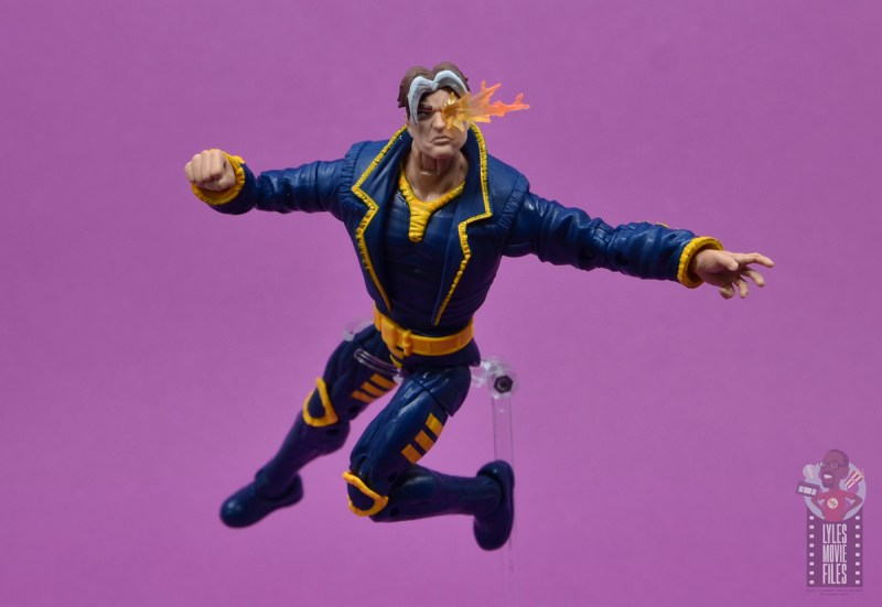 marvel legends x-man figure review - pivoting in air