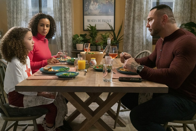 my spy review - chloe coleman, parisa fitz-henley and dave bautista