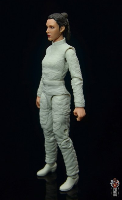 star wars the black series princess leia bespin escape figure review - left side