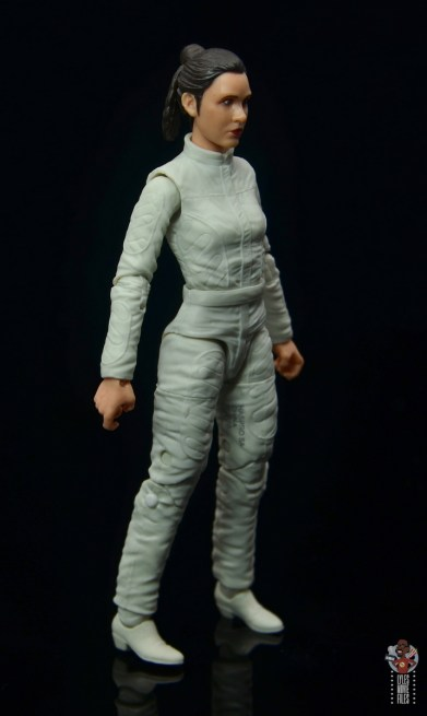 star wars the black series princess leia bespin escape figure review - right side