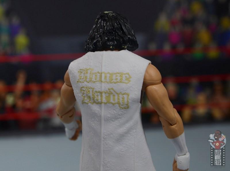 wwe elite wrestlemania woken matt hardy figure review - robe detail rear