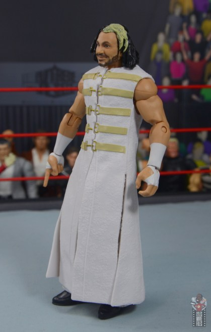 wwe elite wrestlemania woken matt hardy figure review - robe left