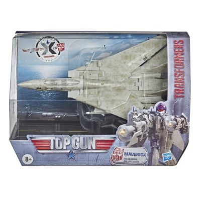 transformers top gun - package front
