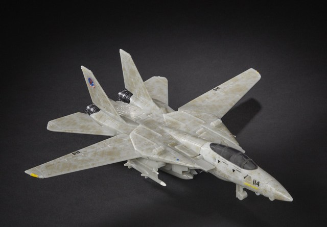 transformers top gun - jet mode wings out