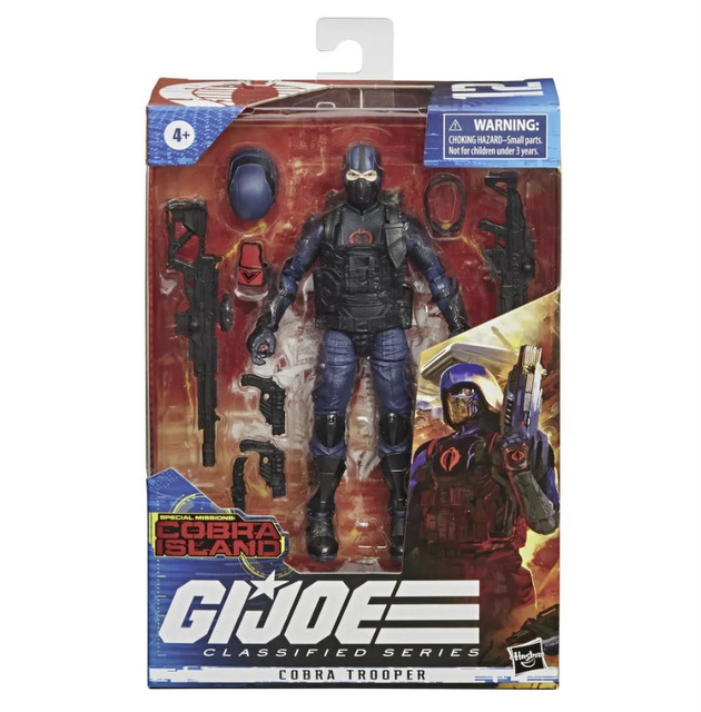 Hasbro G.I. Joe Classified Series Cobra Island Target Exclusives - cobra trooper