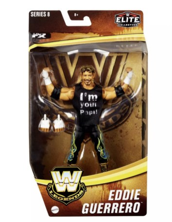 WWE Legends Elite Collection Eddie Guererro Action Figure Target - package front