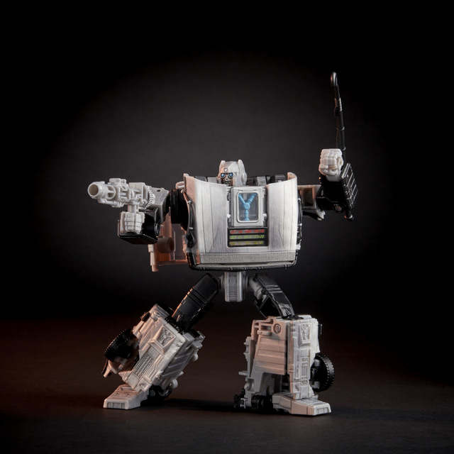 back to the future transformers gigawatt figure - blasters out
