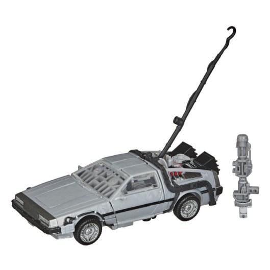 back to the future transformers gigawatt figure - white backdrop