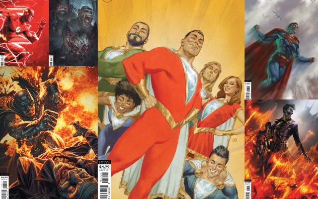 dc comics 7-21-20