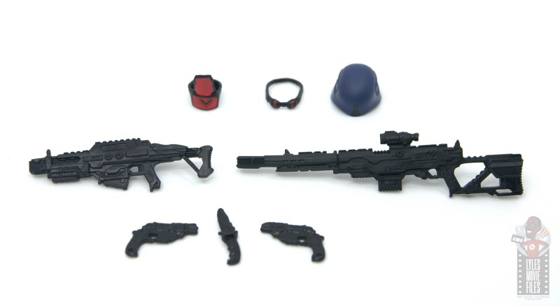 gi joe classified cobra trooper figure review - accessories