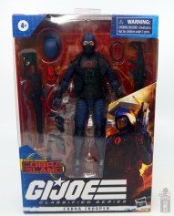 gi joe classified cobra trooper figure review - package front