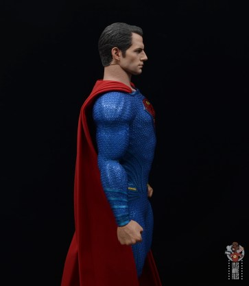 hot toys justice league superman figure review - uniform right side